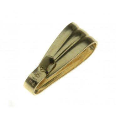 9ct Yellow Gold Bail, Large, 9YBAILL