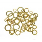 9ct Yellow Gold Jumpring 3mm x 0.5mm, Lightweight, 9YJR305