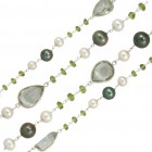 Beaded Chain - Green, CBCLF2