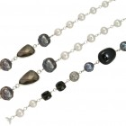 Beaded Chain - Black, CBCLF4