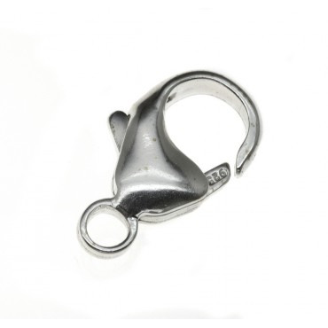 Sterling Silver Lever Catch 11.4mm (Medium), SLLEV2