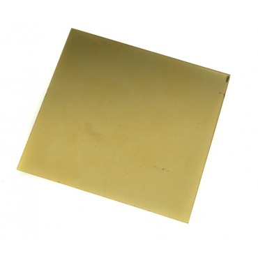 9ct Yellow Gold Sheet 0.4mm Thick, B9YS04